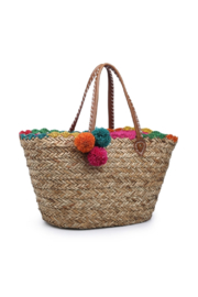 jen & co Natural Seagrass Tote - Product Mini Image