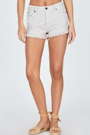 AMUSE SOCIETY Natural Shoreline Shorts - Front cropped
