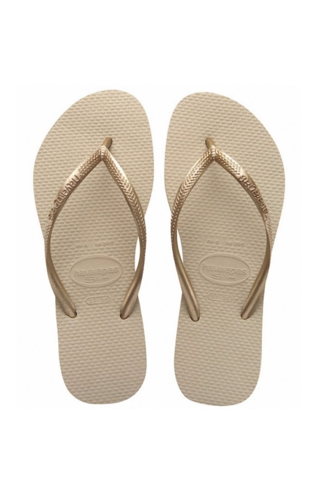 Havaianas Natural Slim - Front Cropped Image