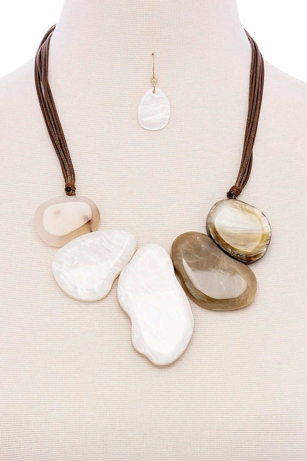 Fashion Jewelry Natural Stone Necklace - Main Image