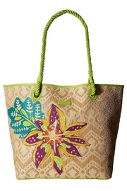 Vera Bradley Natural Straw Beach-Tote - Product Mini Image