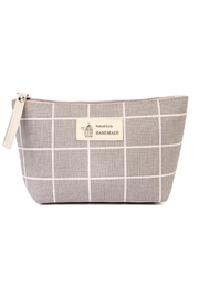 Riah Fashion Natural Style Cosmetic-Pouch - Front cropped