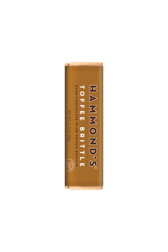 Hammond's Candies NATURAL TOFFEE BRITTLE DARK CHOCOLATE CANDY BAR - Product List Image
