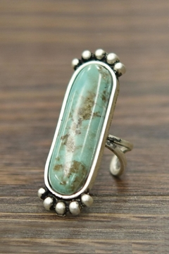JChronicles Natural Turquoise Adjustable-Ring - Product List Image