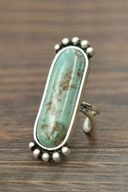 JChronicles Natural Turquoise Adjustable-Ring - Product Mini Image