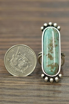 JChronicles Natural Turquoise Adjustable-Ring - Alternate List Image