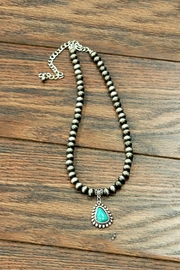 JChronicles Natural Turquoise Charm-Necklace - Product Mini Image