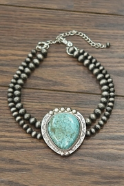JChronicles Natural Turquoise Choker-Necklace - Product Mini Image