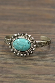 JChronicles Natural Turquoise Cuff-Bracelet - Product Mini Image