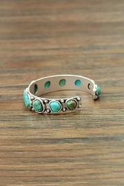 JChronicles Natural Turquoise Cuff-Bracelet - Side cropped