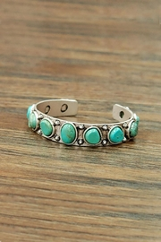 JChronicles Natural Turquoise Cuff-Bracelet - Front cropped