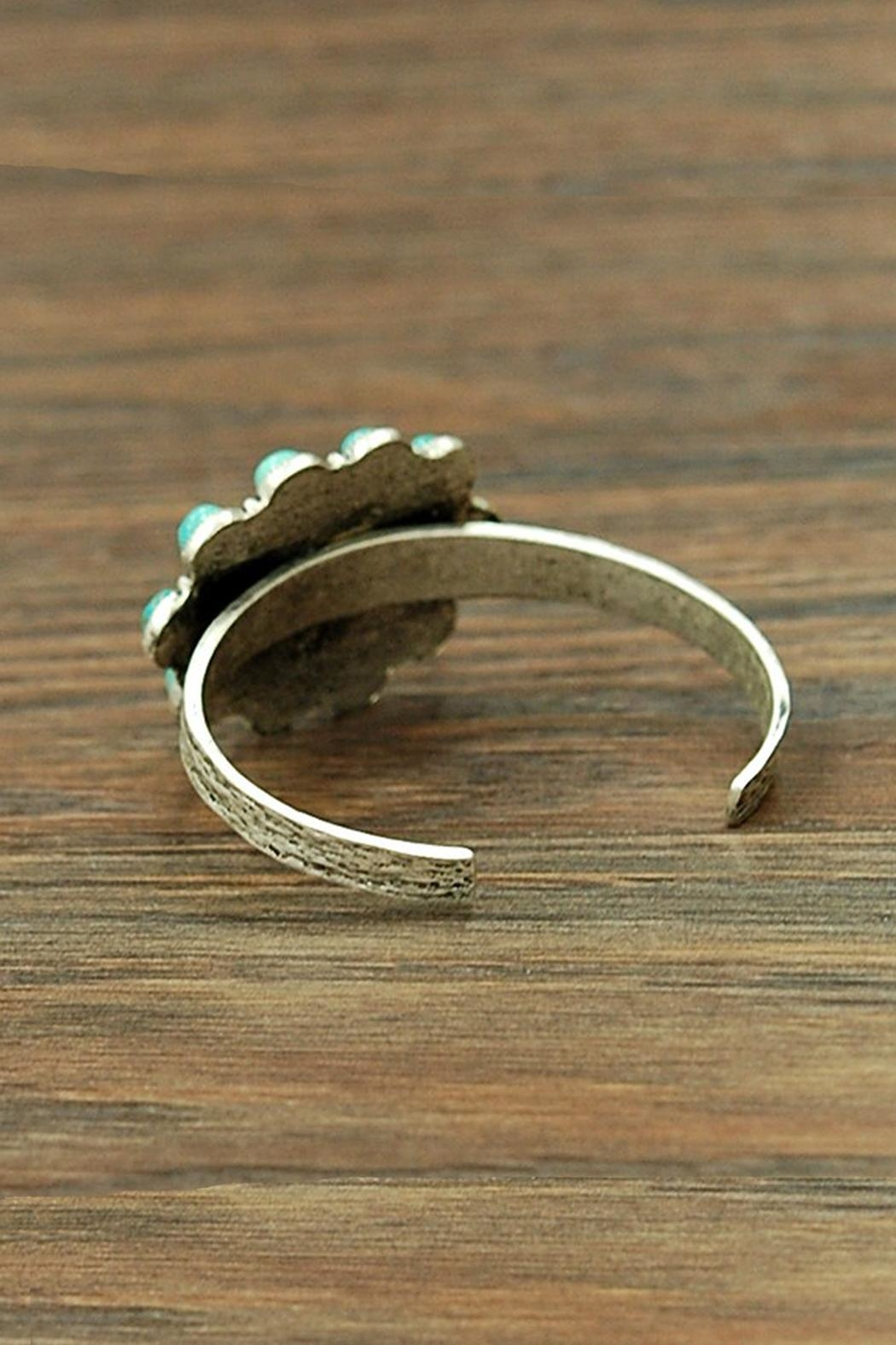 JChronicles Natural Turquoise Cuff-Bracelet - Front Full Image