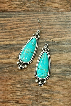JChronicles Natural Turquoise Earring - Product List Image