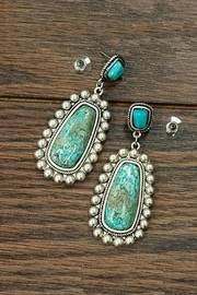 JChronicles Natural Turquoise Earring - Product Mini Image