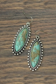 JChronicles Natural Turquoise Earrings - Product Mini Image