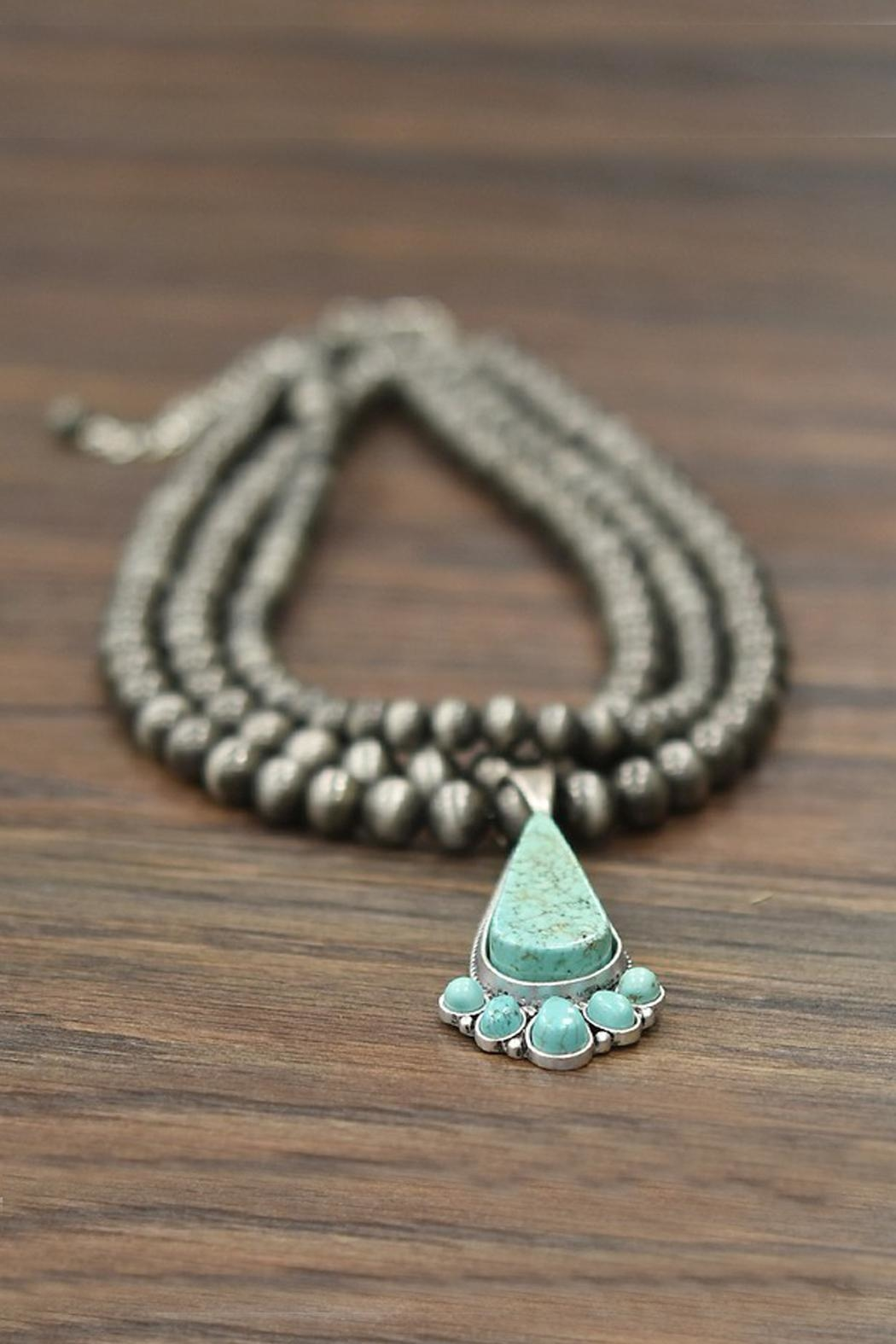 JChronicles Natural Turquoise Necklace - Front Full Image