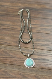 JChronicles Natural Turquoise Necklace - Front cropped
