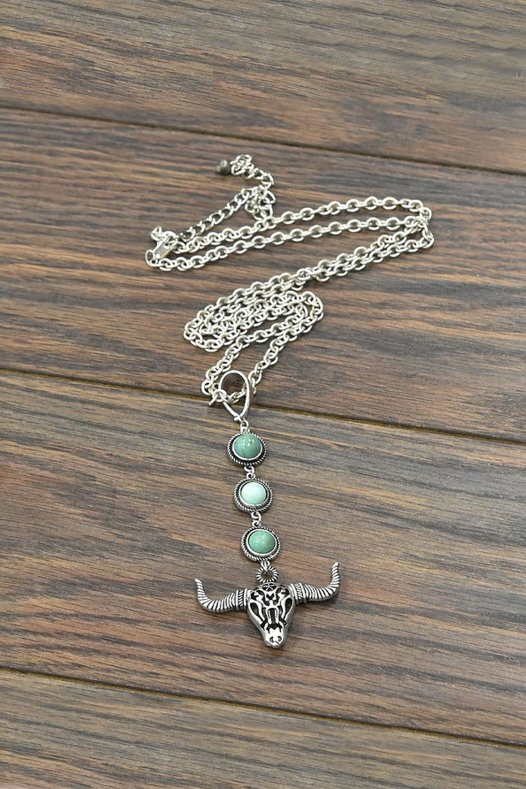 JChronicles Natural Turquoise Necklace - Main Image