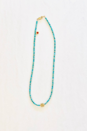 Jen Collection  Natural Turquoise Necklace - Product Mini Image