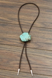 JChronicles Natural-Turquoise Nugget Bolo-Tie - Product Mini Image