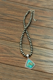 JChronicles Natural Turquoise Pendant-Necklace - Product Mini Image