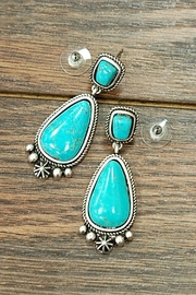JChronicles Natural Turquoise Post-Earrings - Product Mini Image