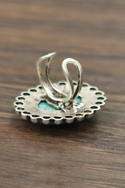 JChronicles Natural Turquoise Ring - Front full body