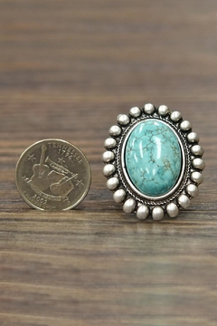 JChronicles Natural Turquoise Ring - Alternate List Image