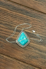 JChronicles Natural-Turquoise Sterling-Silver Chain-Necklace - Product Mini Image