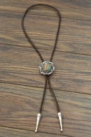 JChronicles Natural Turquoise-Stone Bolo-Tie - Product Mini Image