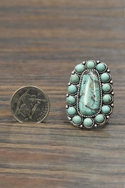 JChronicles Natural Turquoise Stone-Ring - Side cropped