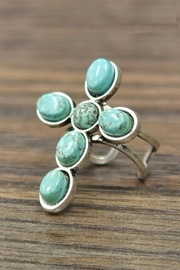 JChronicles Natural Turquoise-Stone Ring - Product Mini Image