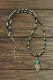 JChronicles Natural Turquoise Western-Necklace - Product Mini Image