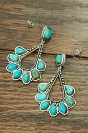 JChronicles Natural Turquosie Post-Earring - Product Mini Image