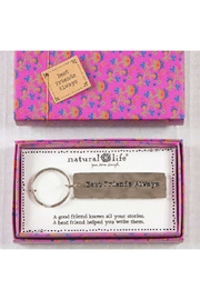 Natural Life Best-Friend-Boxed Key Chain - Front cropped
