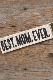 Natural Life Best Mom Ever - Front cropped