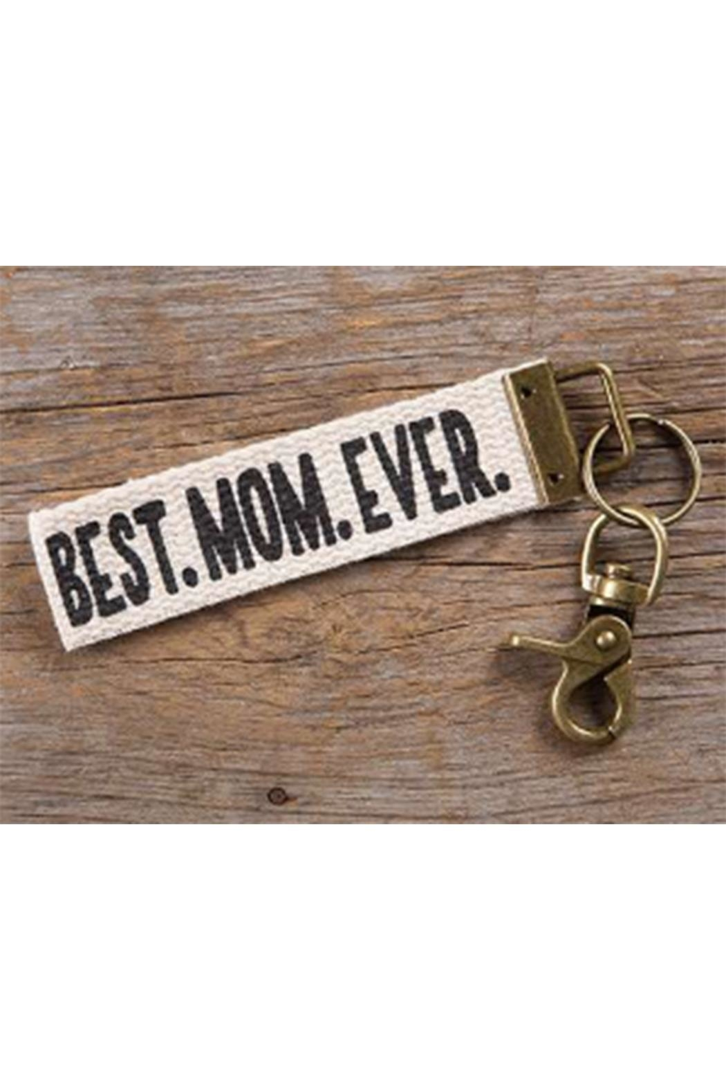 Natural Life Best-Mom-Ever Key Chain - Main Image