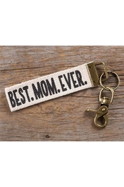 Natural Life Best-Mom-Ever Key Chain - Front cropped
