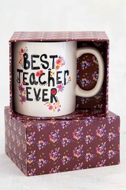 Natural Life Best Teacher Mug - Product Mini Image