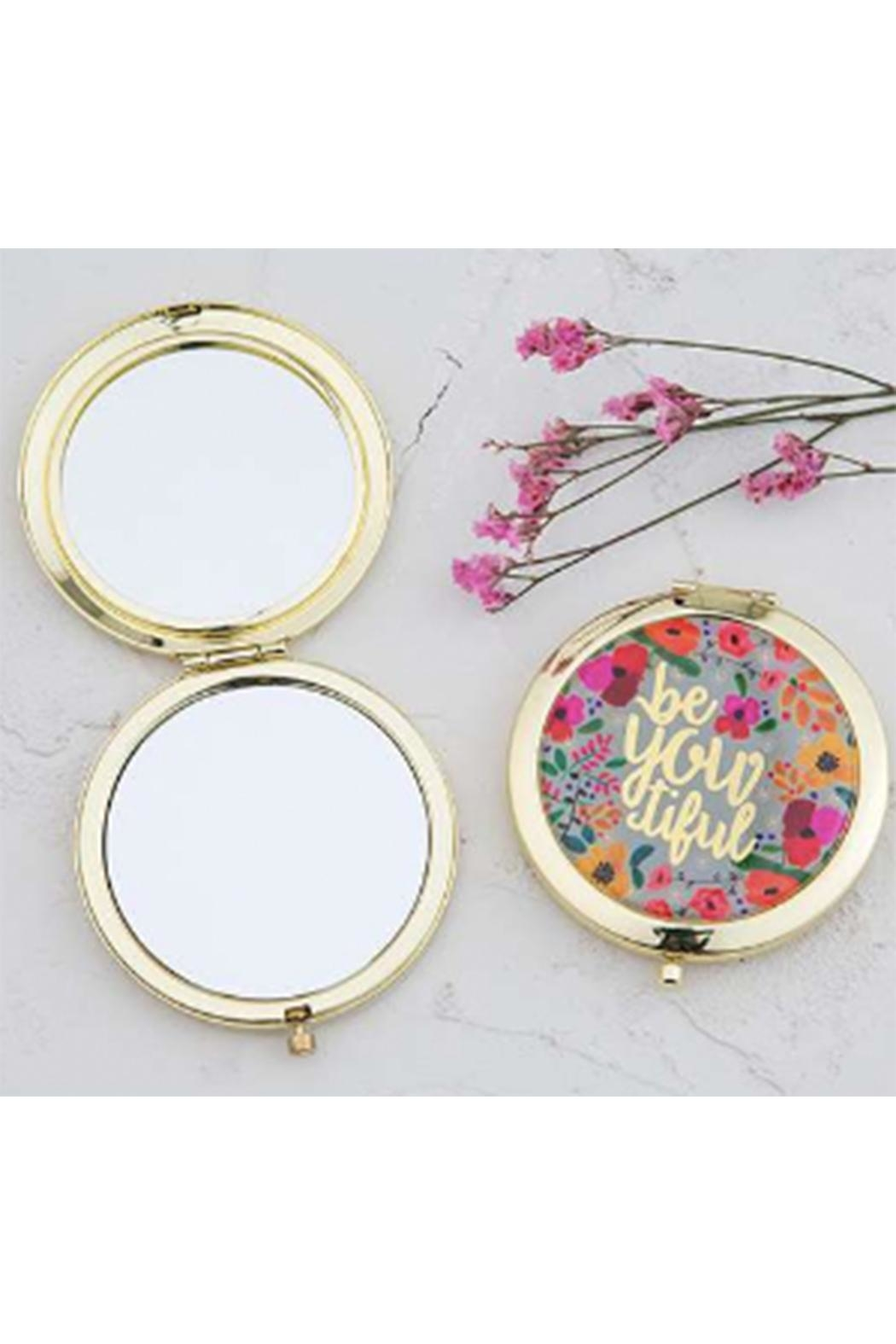 Natural Life Beyoutiful Compact Mirror - Front Cropped Image