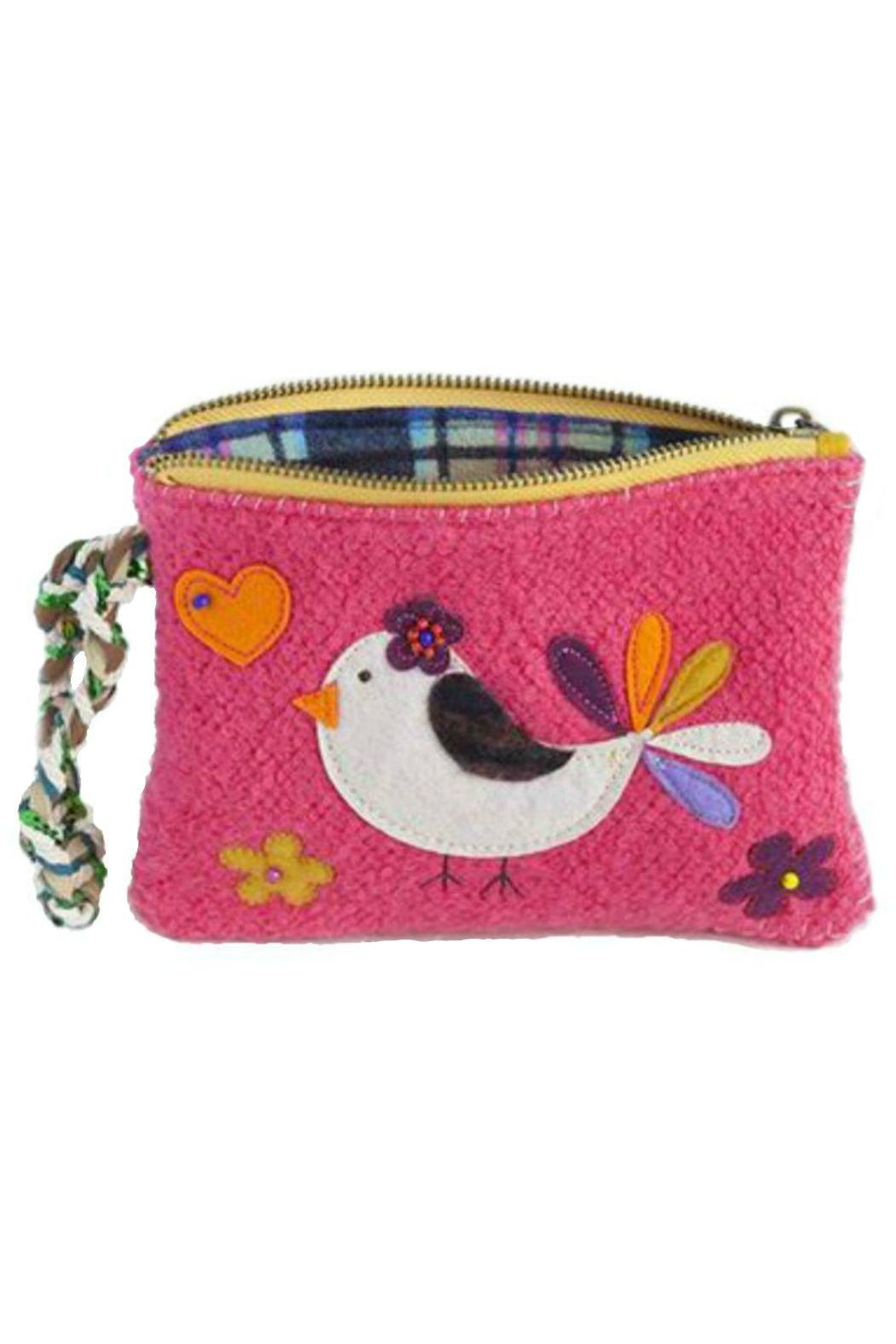Natural Life Bird Sweater Wristlet - Front Cropped Image