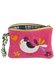 Natural Life Bird Sweater Wristlet - Product Mini Image
