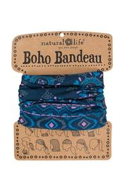 Natural Life Blue Boho Bandeau - Product Mini Image