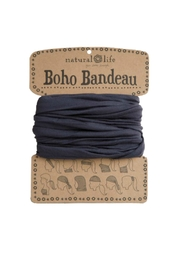 Natural Life Charcoal Boho Bandeau - Product Mini Image