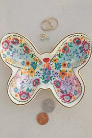 Natural Life Butterfly Trinket Dish - Product Mini Image