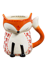 Natural Life Ceramic Fox Mug - Product Mini Image