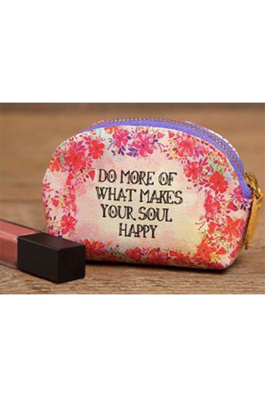 Natural Life Do-More-Happy Mini Pouch - Main Image