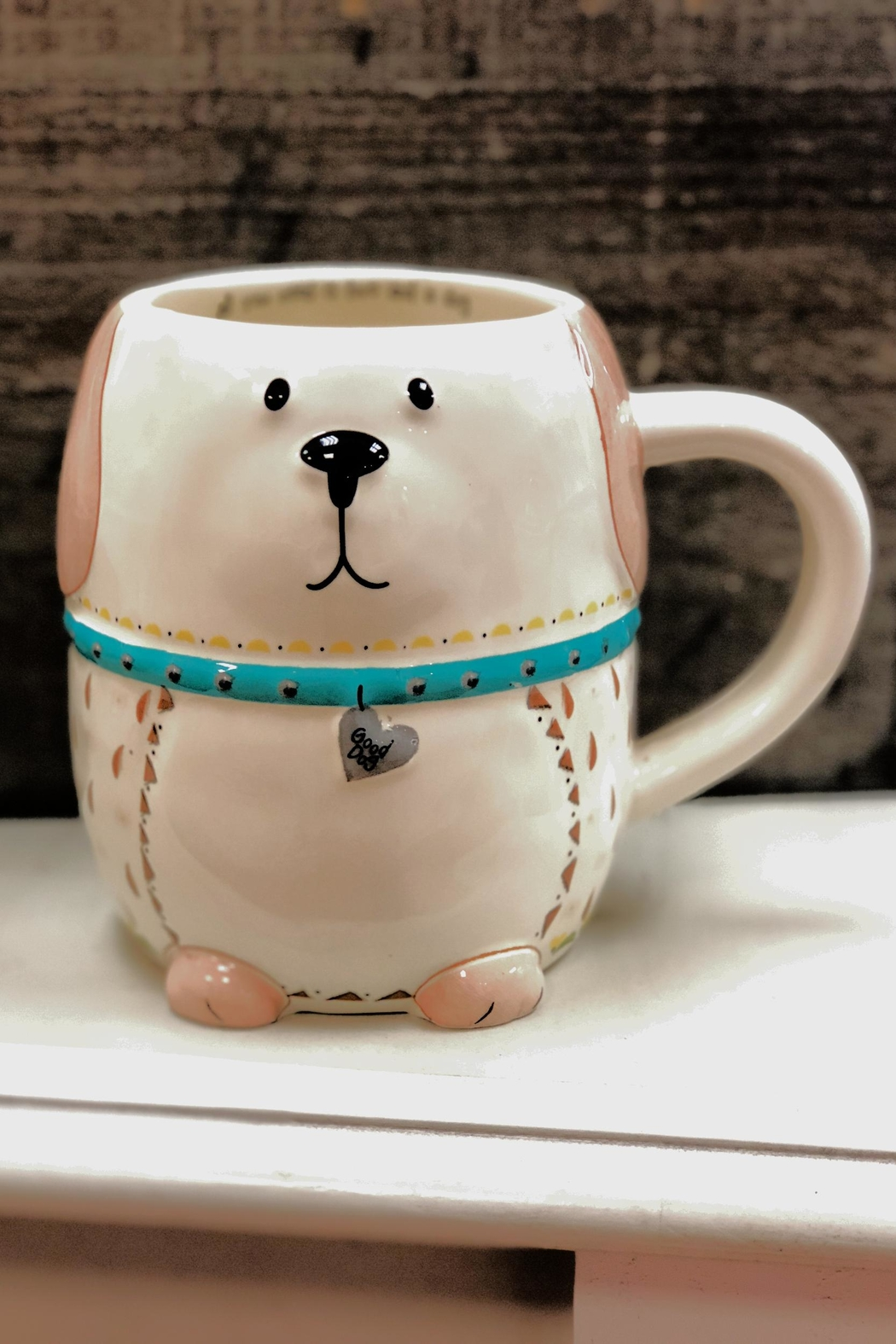 Natural Life Doggy Mug - Front Full Image