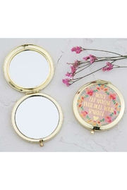 Natural Life Dull-Your-Sparkle Compact Mirror - Front cropped