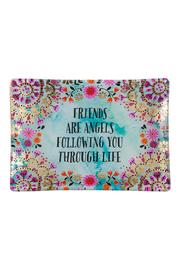 Natural Life Friends Glass Tray - Product Mini Image